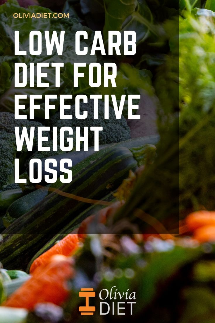 Low Carb Diet For Effective Weight Loss