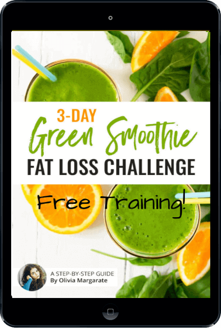 3 day green smoothie fat loss challenge