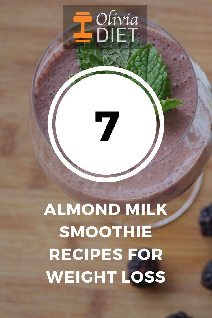 almond milk smoothies for weight loss