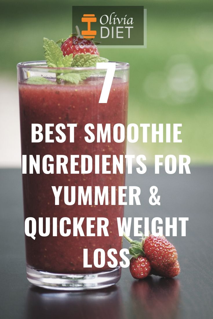 best ingredients for your smoothies