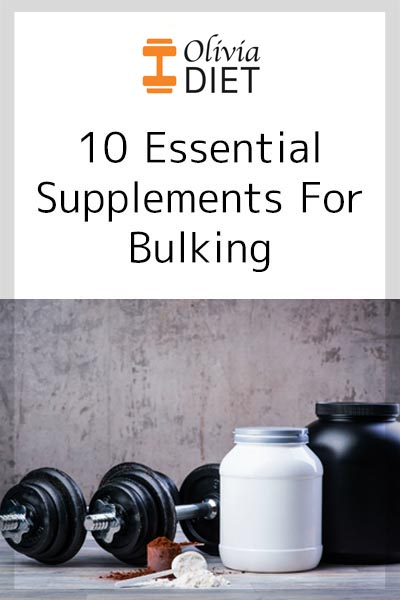 Essential supplements for bulking