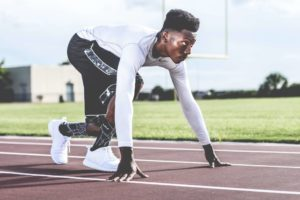 sprint to reduce belly and hips