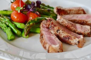 Eat lean meat to lose belly fat