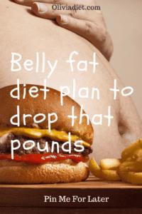 easy flat belly diet plan