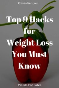 Hacks for Weight Loss