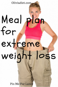 Meal Plan For Extreme Weight Loss With Sample Meal Plans