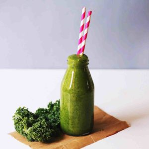spinach breakfast smoothie