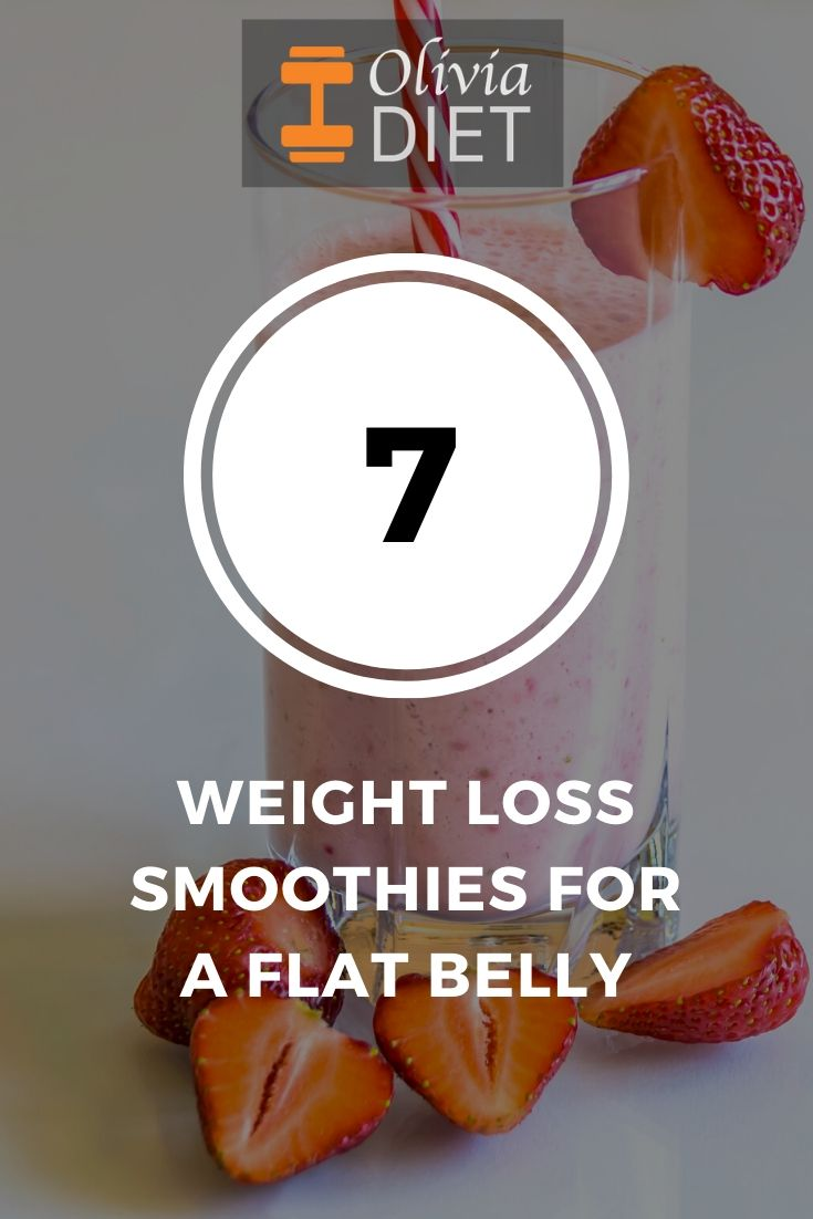 flat belly weight loss smoothies
